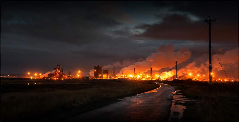 Munro Cautley Cup (Colour Landscape) - Corus Steel Works, Redcar by ...: www.idps.org.uk/2013Exhibition/Prints/Cup Winners/slides/Corus...